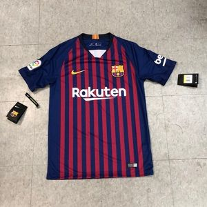Barcelona home jersey size small 2018/2019